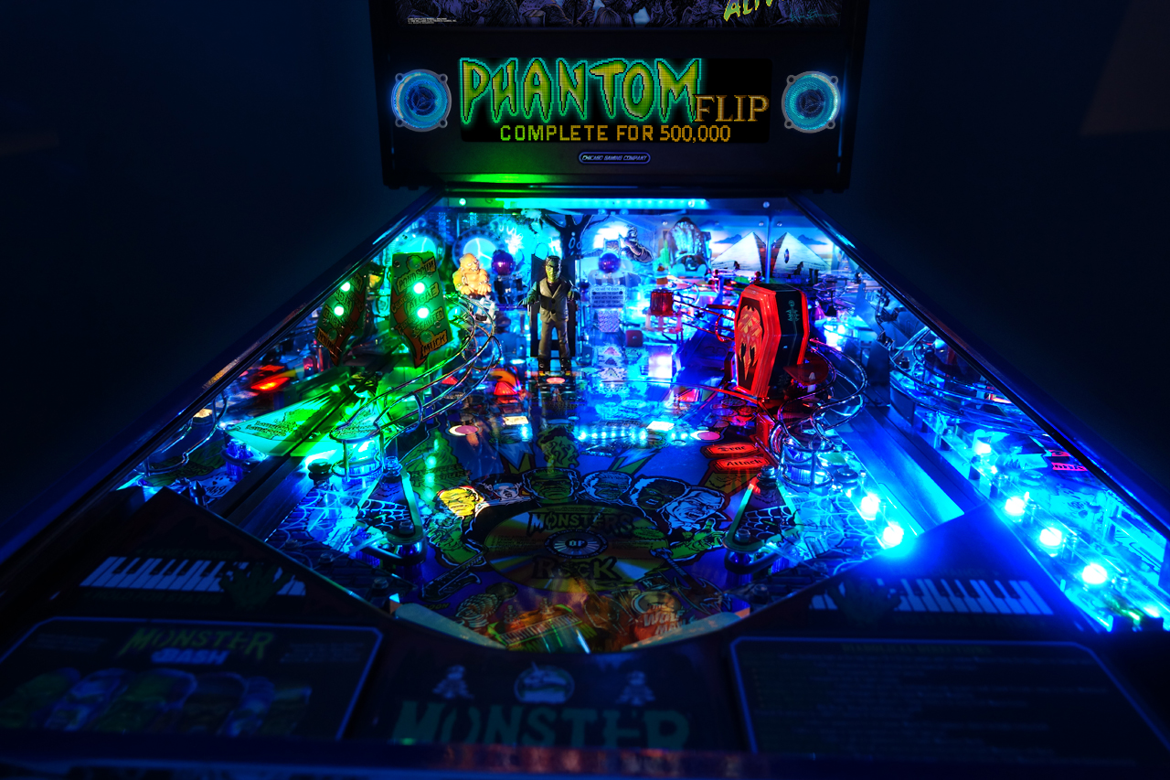 Monster Bash Playfield Photo 1