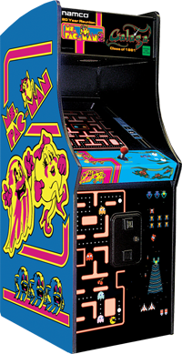 Ms Pac-Man/Galaga Machine