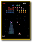 Galaga Screen Shot