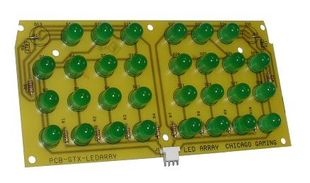 Part #GTX-PCB-LEDARAY
