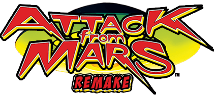 Attack From Mars Logo